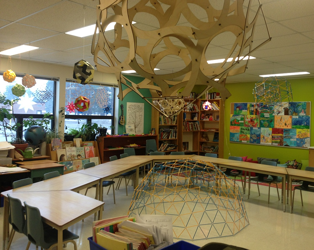 Classroom Design Math ~ Making math visible